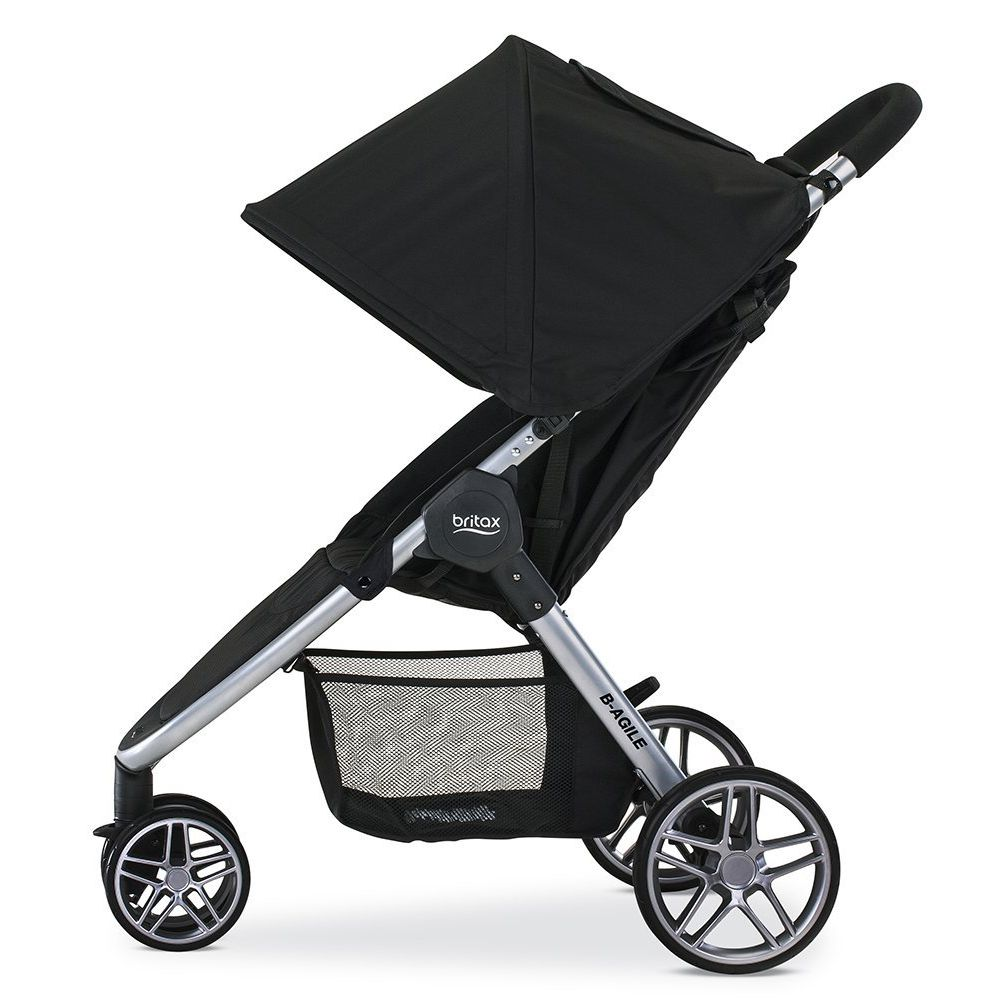 britax b agile strolle review - 3 Best Full-Size Strollers for Toddlers, Babies, and Kids!